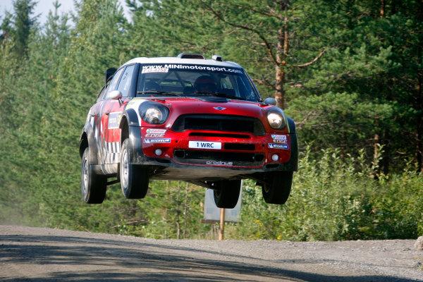 Round 8, Rally Finland, 28th - 30th July 2011Dani Sordo, MINI, ActionWorldwide Copyright: LAT/McKlein