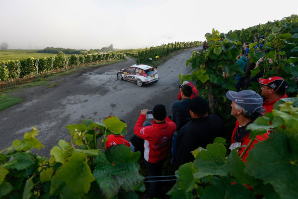 2014 World Rally Championship Rallye Deutschland 21-24 th August 2014 Ott Tanak, Ford WRC2 Action Worldwide Copyright: McKlein/LAT