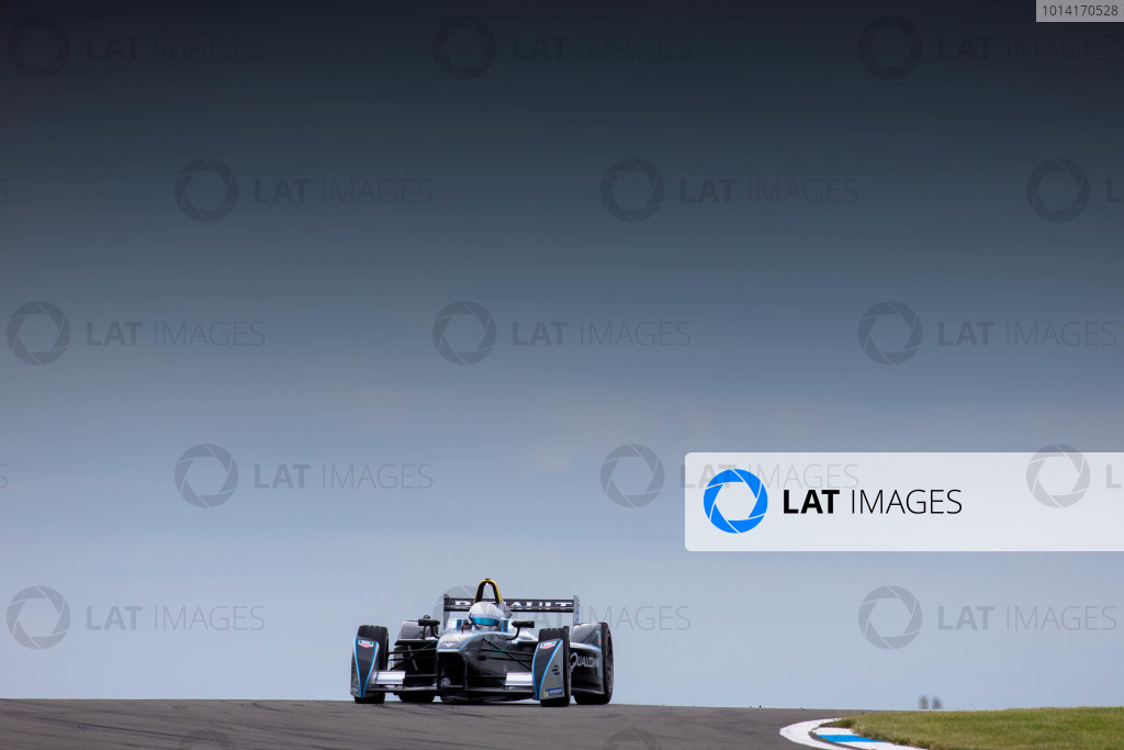 Formula E Testing - Donington Park, UK