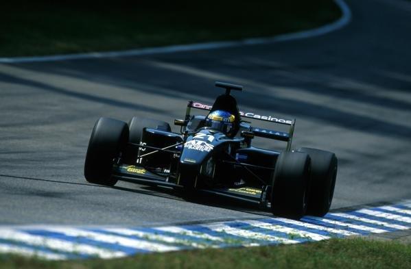 Sebastien Bourdais (FRA) DAMS finished fourth.International Formula 3000 Championship Rd 9, Hockenheim, Germany, 28 July 2001.BEST IMAGE