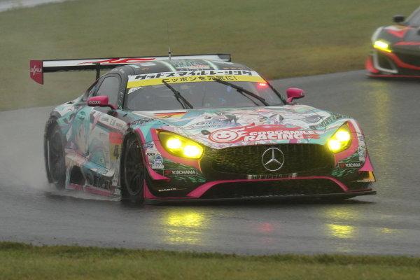 Nobuteru Taniguchi & Tatsuya Kataoka, Goodsmile Racing with Team UKYO, Mercedes-AMG GT3, 2nd position in GT300
