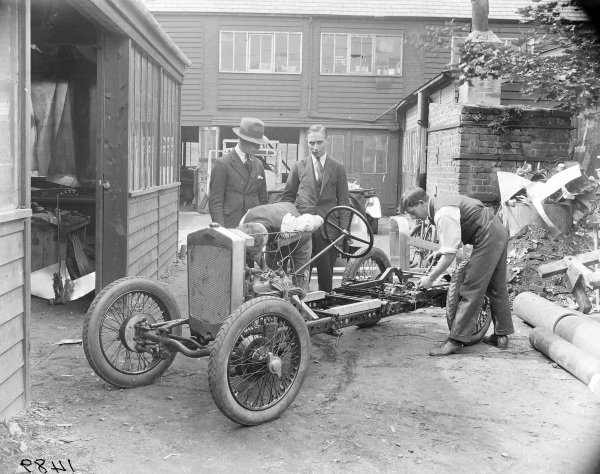 Frazer Nash chassis.
