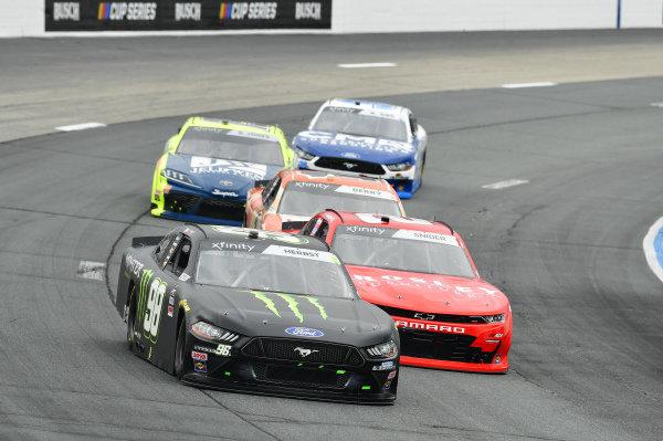 #98: Riley Herbst, Stewart-Haas Racing, Ford Mustang Monster Energy, #7: Justin Allgaier, JR Motorsports, Chevrolet Camaro BRANDT