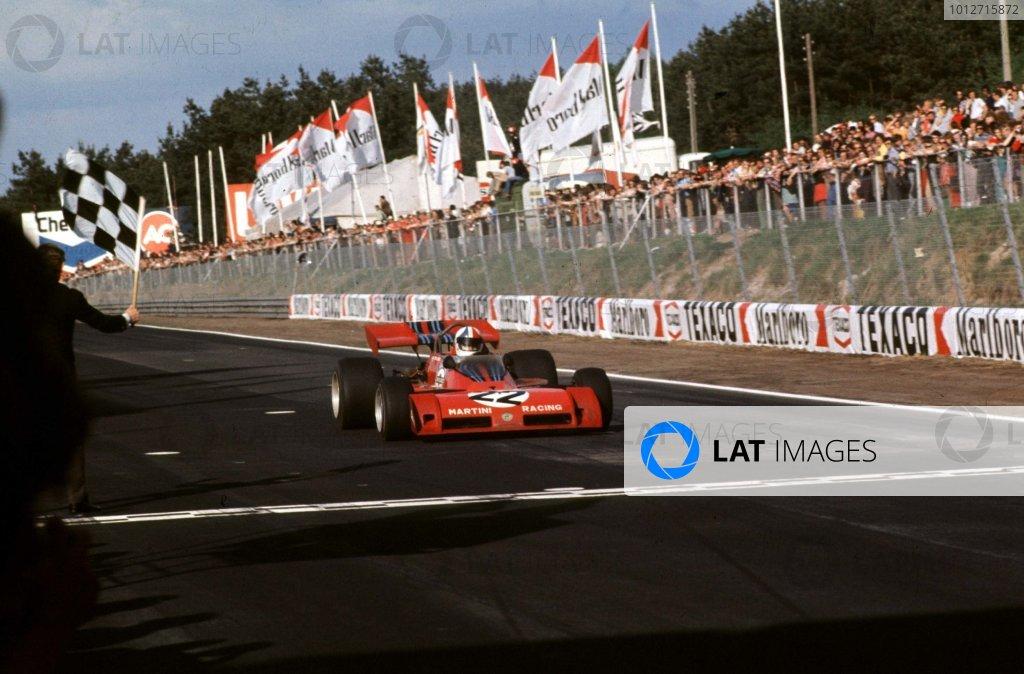 1973 Belgian Grand Prix.Zolder, Belgium.18-20 May 1973.Chris Amon (Tecno PA123) 6th position.  Ref: 73BEL43. World Copyright - LAT Photographic