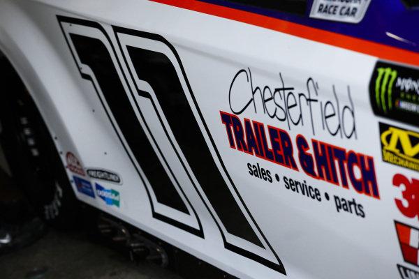 #11: Denny Hamlin, Joe Gibbs Racing, Toyota Camry FedEx Throwback Toyota Camry
