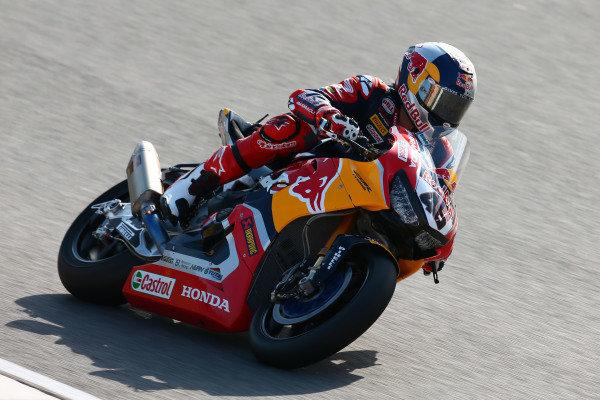 Jake Gagne, Honda WSBK Team.