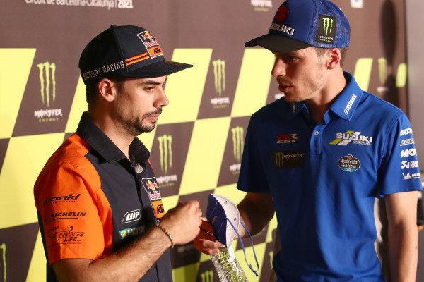 Miguel Oliveira, Red Bull KTM Factory Racing, Joan Mir, Team Suzuki MotoGP