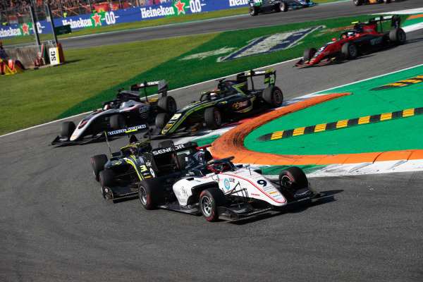 AUTODROMO NAZIONALE MONZA, ITALY - SEPTEMBER 07: Raoul Hyman (GBR, Sauber Junior Team by Charouz) during the Monza at Autodromo Nazionale Monza on September 07, 2019 in Autodromo Nazionale Monza, Italy. (Photo by Joe Portlock / LAT Images / FIA F3 Championship)