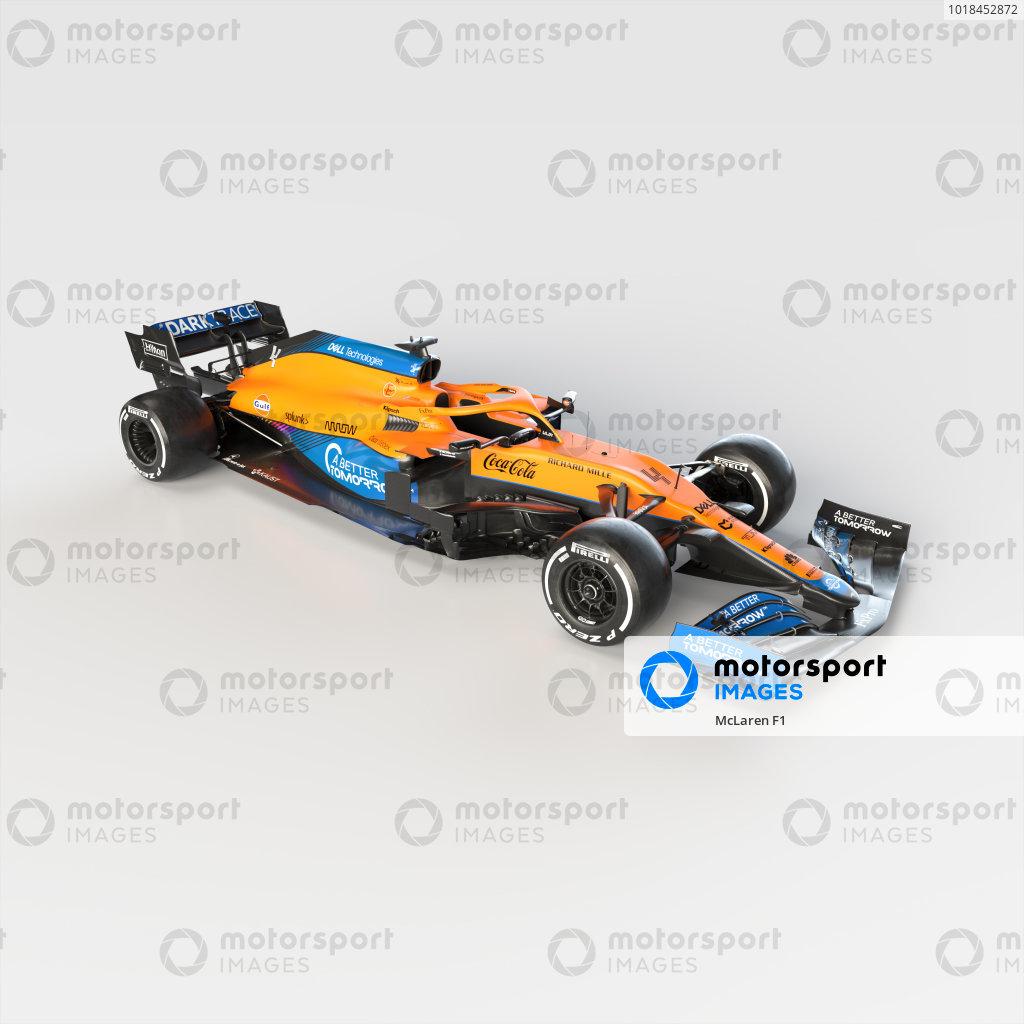 McLaren MCL35M Launch