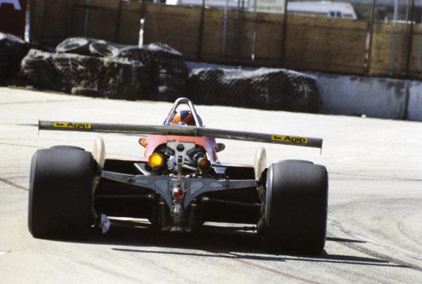 Gilles Villeneuve, Ferrari 126C2.