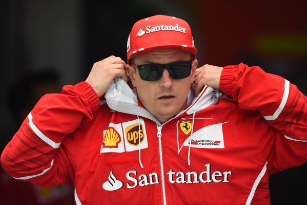 Kimi Raikkonen (FIN) Ferrari at Formula One World Championship, Rd2, Chinese Grand Prix, Practice, Shanghai, China, Friday 7 April 2017.