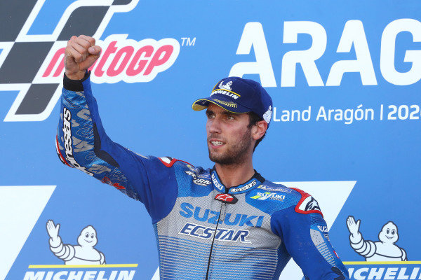 Race winner Alex Rins, Team Suzuki MotoGP.