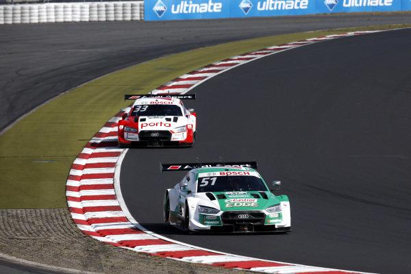 Nico Müller, Audi Sport Team Abt Sportsline, Audi RS 5 DTM, René Rast, Audi Sport Team Rosberg, Audi RS 5 DTM.