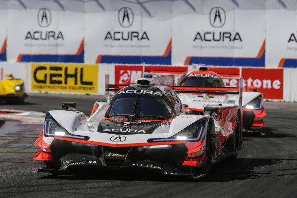 #7 Acura Team Penske Acura DPi, DPi: Helio Castroneves, Ricky Taylor, #6 Acura Team Penske Acura DPi, DPi: Juan Pablo Montoya, Dane Cameron