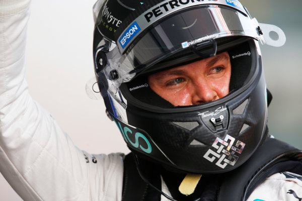 Shanghai International Circuit, Shanghai, China. Saturday 11 April 2015. Nico Rosberg, Mercedes AMG. World Copyright: Steven Tee/LAT Photographic. ref: Digital Image _X0W7545