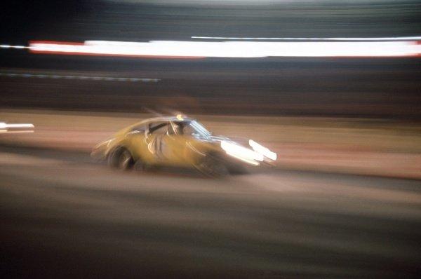 1972 Le Mans 24 hours.Le Mans, France. 10-11 June 1972.Michael Keyser/Jurgen Barth/Sylvain Garant (Porsche 911S), 13th position.World Copyright: LAT PhotographicRef: 35mm transparency 72LM08