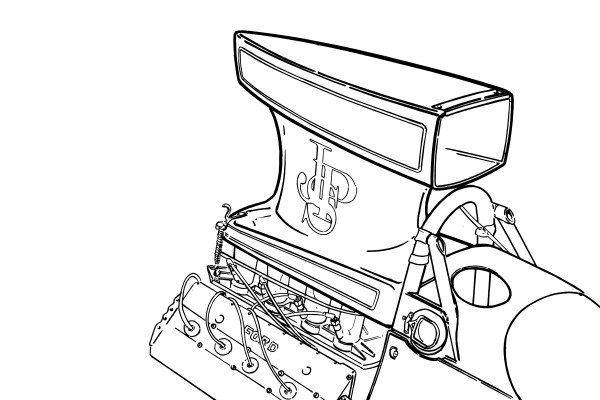 Supercharged Ford V10 Engine