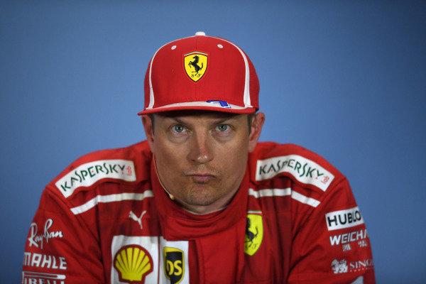 Kimi Raikkonen (FIN) Ferrari