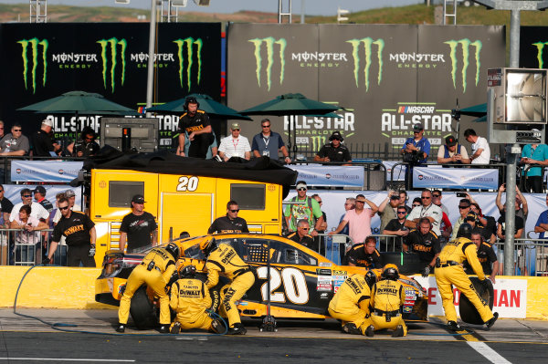 Monster Energy NASCAR Cup Series Monster Energy NASCAR All-Star Race Charlotte Motor Speedway, Concord, NC USA Friday 19 May 2017 Matt Kenseth, Joe Gibbs Racing, DEWALT Benefiting Wounded Warriors Project Toyota Camry World Copyright: Matthew T. Thacker LAT Images ref: Digital Image 17CLT1mt1413