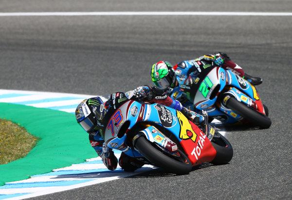 2017 MotoGP Championship - Round 4 Jerez, Spain Sunday 7 May 2017 Alex Marquez, Marc VDS World Copyright: Gold & Goose Photography/LAT Images ref: Digital Image 16160