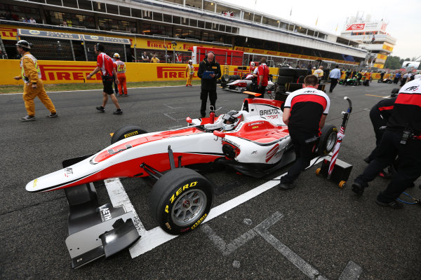 2014 GP3 Series Round 1 - Race 2. Circuit de Catalunya, Barcelona, Spain. Sunday 11 May 2014. Dino Zamparelli (GBR, ART Grand Prix)  Photo: Malcolm Griffiths/GP3 Series Media Service. ref: Digital Image A50A3337