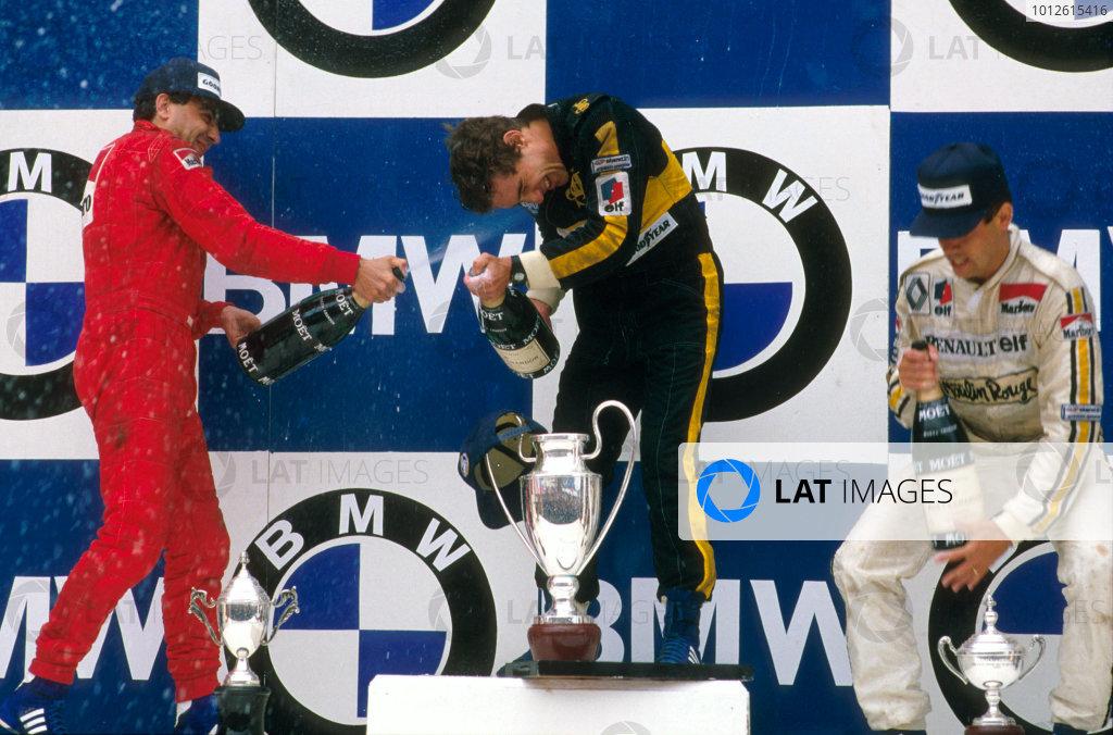1985 Portuguese Grand Prix.