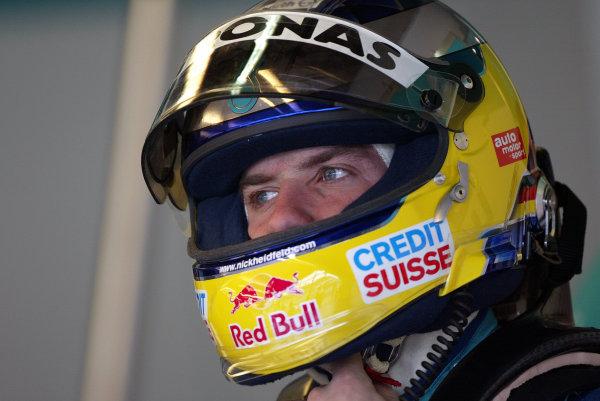 2003 San Marino Grand Prix - Saturday Final Qualifying,Imola, Italy. 19th April 2003 Ralf Schumacher, BMW Williams FW25.World Copyright: Steve Etherington/LAT Photographic ref: Digital Image Only