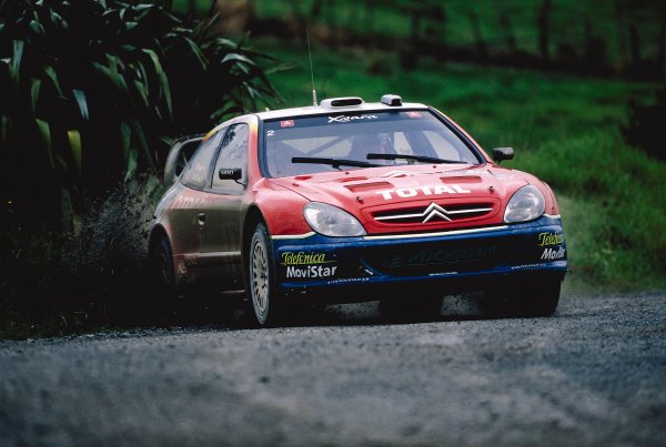 2003 World Rally ChampionshipRally New Zealand. 9th - 13th April 2003.Colin McRae/Derek Ringer (Citroen Xsara), retired stage 7.World Copyright: LAT Photographicref: 35mm Image A23