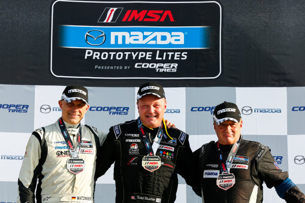 16-18 March, 2016, Sebring, Florida, USA IMSA MPL L1 Masters Podium Race 2 ?2016, Jake Galstad LAT Photo USA