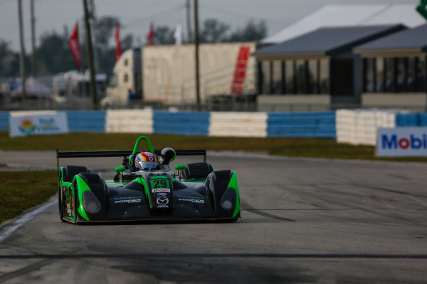 16-18 March, 2016, Sebring, Florida, USA 29, Andrew Hobbs, L1, Elan DP-02 ?2016, Jake Galstad LAT Photo USA