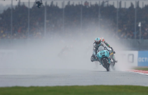 2015 Moto3 Championship.  British Grand Prix.  Silverstone, England. 28th - 30th August 2015.  Danny Kent, Honda.  Ref: KW7_8473a. World copyright: Kevin Wood/LAT Photographic