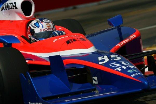 Kosuke Matsuura (JPN), Panther Racing Dallara Honda.IRL IndyCar Series, Rd2, Honda Grand Prix of St Petersburg, Florida, USA. 31 March-01 April 2007.DIGITAL IMAGE