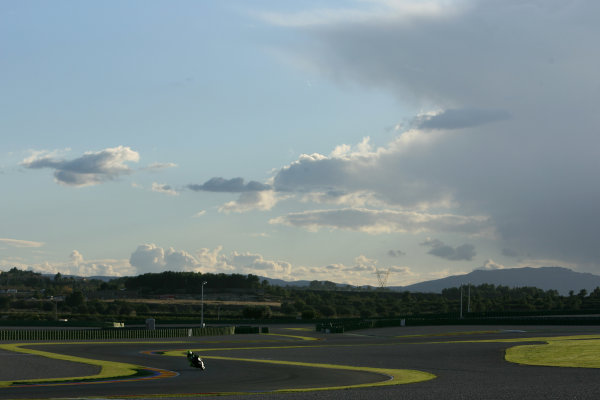 Valencia Test Nov 09-10Valentino Rossi Ducati