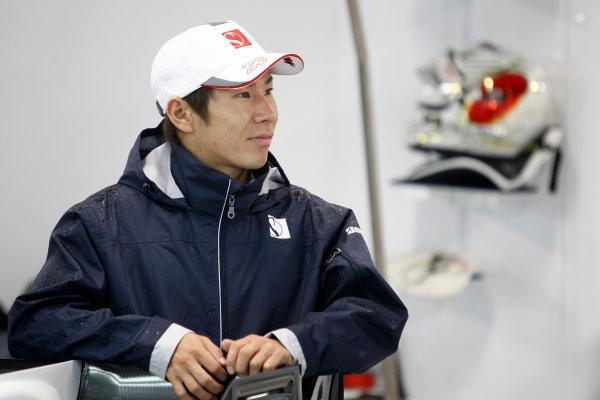 Suzuka Circuit, Suzuka, Japan. 9th October 2010. Kamui Kobayashi, BMW Sauber C29 Ferrari. Portrait.  World Copyright: Andrew Ferraro/LAT Photographic ref: Digital Image _Q0C8888