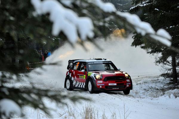 Round 02 - Rally Sweden 09-12 February 2012. Dani Sordo, Mini WRC, Action  Worldwide Copyright: McKlein/LAT