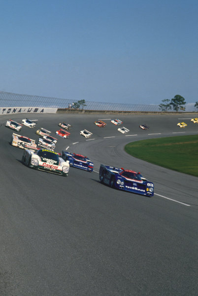 Daytona 24 hours, Florida, USA. 4th - 5th February 1989. Rd 1.