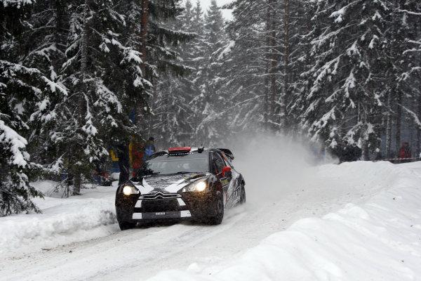 Round 01-Rally Sweden. 10th-13th February 2011.Kimi Raikkonen, Citroen WRC, ActionWorldwide Copyright: McKlein/LAT