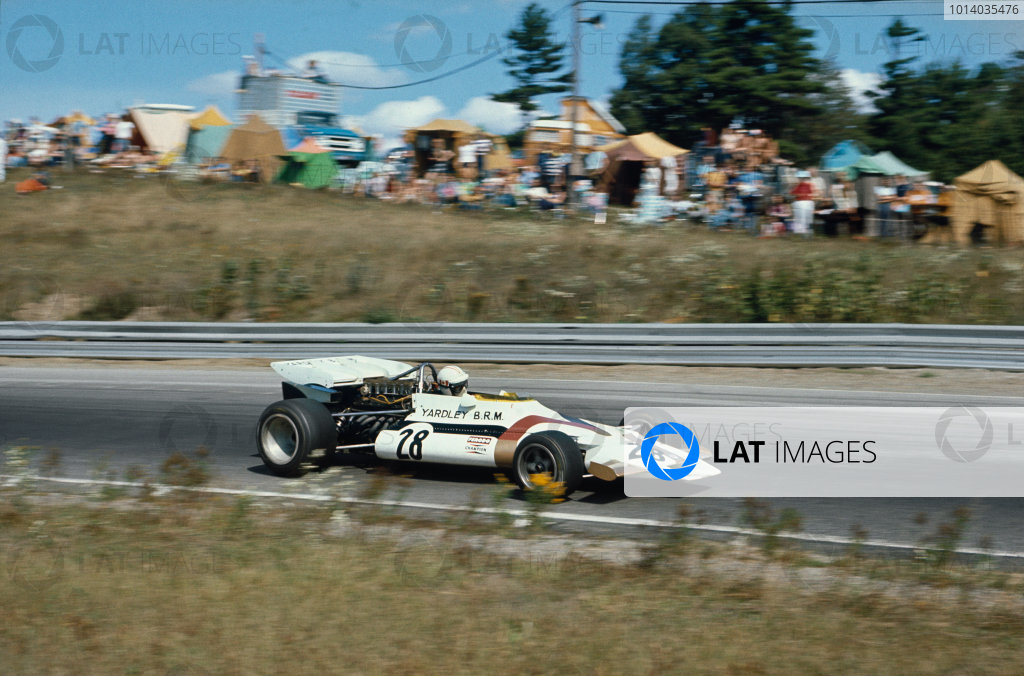1971 Canadian Grand Prix.  Mosport, Canada. 17-19th September 1971.  George Eaton, BRM P160.  Ref: 71CAN24. World Copyright: LAT Photographic