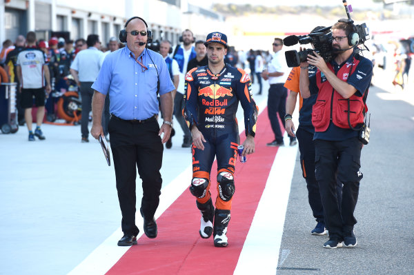 2017 Moto2 Championship - Round 14 Aragon, Spain. Saturday 23 September 2017 Miguel Oliveira, Red Bull KTM Ajo World Copyright: Gold and Goose / LAT Images ref: Digital Image 13876