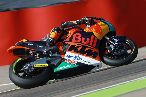 2017 Moto2 Championship - Round 14 Aragon, Spain. Saturday 23 September 2017 Miguel Oliveira, Red Bull KTM Ajo World Copyright: Gold and Goose / LAT Images ref: Digital Image 694285