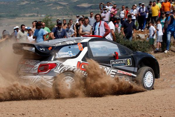Round 07 Acropolis Rally. 16th - 19th June 2011.Kimi Raikkonen, Citroen WRC, Action.Worldwide Copyright: McKlein/LAT