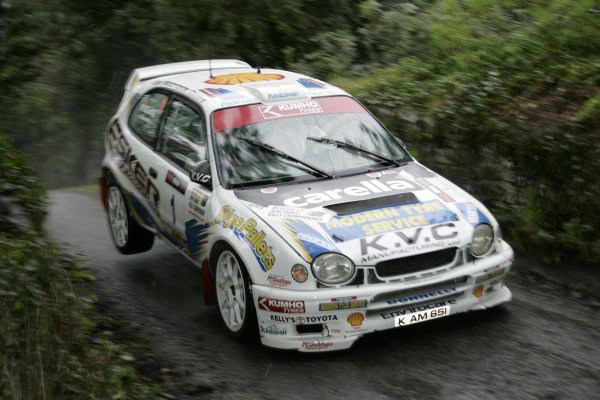 2006 British Rally ChampionshipUlster Rally, Armagh.2nd September 2006Eugene DonnellyWorld Copyright - Ebrey/LAT Photographic