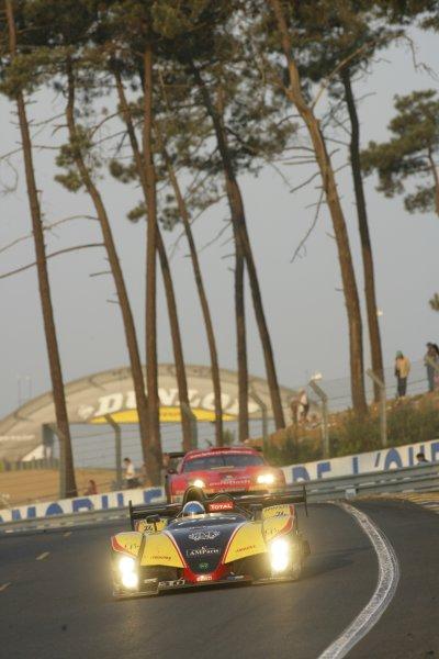 2006 Le Mans 24 Hours, Le Mans, France.14th - 18th June. J Briche (FRA)/ F Hauchard (FRA)/ P Roussel (FRA), Welter Gerard, WR Peugeot. Sunrise, Action .World Copyright: Andrew Ferarro/LAT PhotographicRef: Digital Image Only ZP9O1370