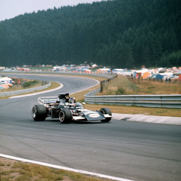 Nurburgring, Germany.28-30 July 1972.Carlos Pace (March 711 Ford).Ref-3/5126A.World Copyright - LAT Photographic