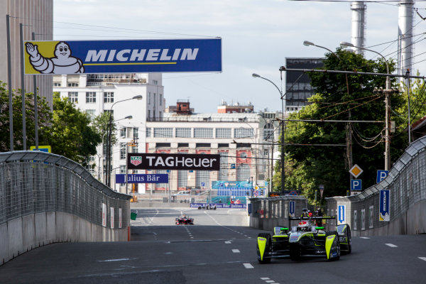 2014/2015 FIA Formula E Championship. Moscow ePrix, Moscow, Russia. Saturday 6 June 2015 Antonio Garcia (SPA)/China Racing - Spark-Renault SRT_01E. Photo: Zak Mauger/LAT/Formula E ref: Digital Image _MG_8114