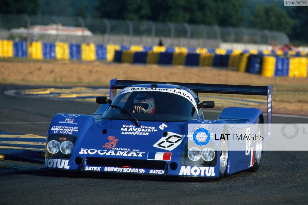 1994 Le Mans 24 Hours. Le Mans, France. 18th - 19th June 1994. Patrick Bourdais/Nicolas Minassian/Olivier Couvreur (Alpa LM), retired, action.  World Copyright: LAT Photographic. Ref:  94LM15
