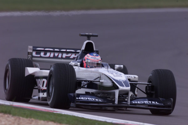 2000 European Grand Prix.Nurburgring, Germany. 19-21 May 2000.Jenson Button (Williams FW22 BMW).World Copyright - LAT Photographic