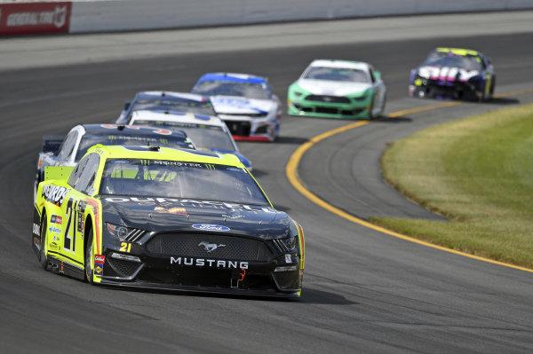 #21: Paul Menard, Wood Brothers Racing, Ford Mustang Menards / Duracell Optimum