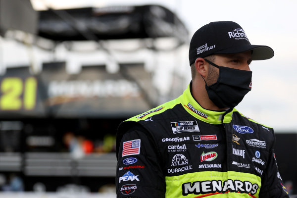 Matt DiBenedetto, Wood Brothers Racing Ford Menards/Richmond Copyright: Chris Graythen/Getty Images