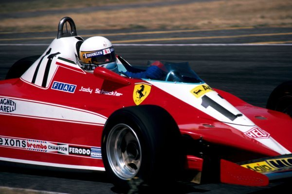 Jody Scheckter (RSA) Ferrari 312T3 did not take the restart after spraining his wrist in the multi-car accident at the first start that stopped the race.